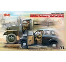 ICM 35643 - 1:35 RKKA Drivers (1943-1945) (2 figures) (100% new molds)
