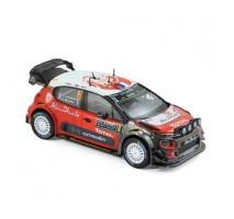 NOREV - Citroen C3 WRC N°8 - S.Lefebvre/G.Moreau - Monte Carlo 2017