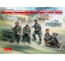 ICM 35644 - 1:35 German Command Vehicle Crew (1939-1942) (4 figures) (100% new molds)