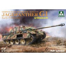 TAKOM 2125 - 1:35 Jagdpanther G1 early production German Tank Destroyer Sd.Kfz.173 w/ Zimmerit / full interior kit