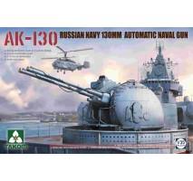 TAKOM 2129 - 1:35 Russian AK-130 Automatic Naval Gun Turret