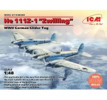"""ICM 48260 - 1:48 He 111Z-1 """"Zwilling"""", WWII German Glider Tug"""