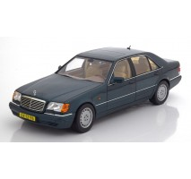 NOREV 183593 - Mercedes-Benz S600 1997 - Green metallic