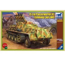 Bronco Models CB35070 - 1:35 15cm Panzerwerfer 42 (Zehnling) auf sWS