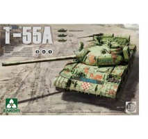 TAKOM 2056 - 1:35 Russian Medium Tank T-55 A [3 in 1]
