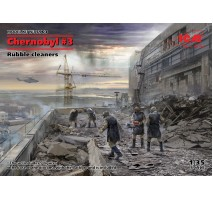 ICM 35903 - 1:35 Chernobyl#3. Rubble cleaners (5 figures)