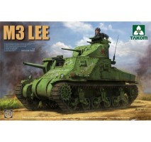 TAKOM 2085 - 1:35 US MEDIUM TANK M3 LEE EARLY