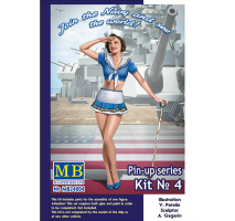 Masterbox 24004 - 1:24 Pin-up series, Kit No. 4. Suzie  - 1 figure