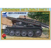 Bronco Models CB35089 - 1:35 Bruckenleger auf pz.Kpfw. II ausf D1