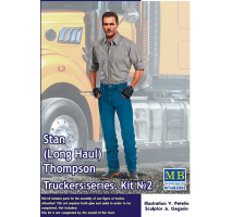 Masterbox 24042 - 1:24 Truckers series. Stan (Long Haul) Thompson