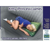 Masterbox 24046 - 1:24 Truckers series. Kitty (Princess) James