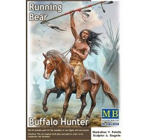 Masterbox 24048 - 1:24 Buffalo Hunter. Running Bear