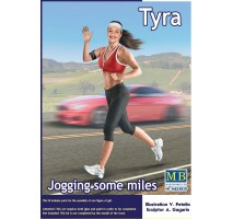 Masterbox 24050 - 1:24 Jogging some miles. Tyra