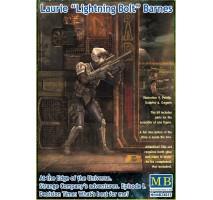 "Masterbox 24055 - 1:24 Laurie ""Lightning Bolt"" Barnes"