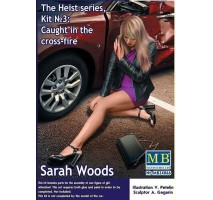 Masterbox 24066 - 1:24 The Heist series, Kit №3: Caught in the cross-fire. Sarah Woods