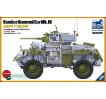 Bronco Models CB35081SP - 1:35 Humber Armored Car Mk. IV (Full Interior Transparent Edition)