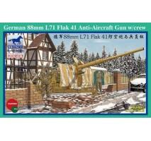 Bronco Models CB35067 - 1:35 German 88mm L71 Flak 41 Anti-Aircraft Gun w/Crew