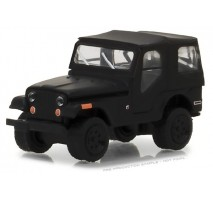 GreenLight 27950-D - 1970 Jeep CJ-5 Solid Pack - Black Bandit Series 19