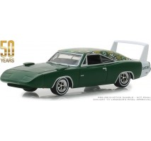 GreenLight 27970-B - 1969 Dodge Charger Daytona Mod Top 50th Anniversary Solid Pack - Anniversary Collection Series 7