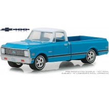 GreenLight 27970-C - 1972 Chevrolet C-10 100th Anniversary of Chevy Trucks Solid Pack - Anniversary Collection Series 7
