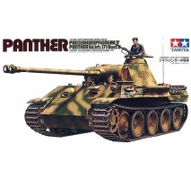 TAMIYA 35065 - 1:35 German Panther Ausf A Medium Tank - 2 figures