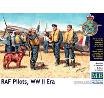 Masterbox 3206 - 1:32 RAF Pilots, WW II Era - 3 figures