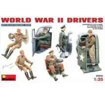 Miniart 35042 - 1:35 WW II Drivers - 6 figures
