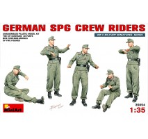 Miniart 35054 - German SPG Crew Riders - 5 figures 1:35