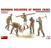 Miniart 35065 - 1:35 German Soldiers at work (RAD) - 5 figures