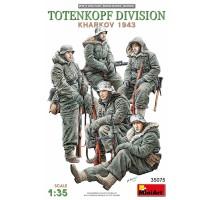 Miniart 35075 - 1:35 Totenkopf Division ( Kharkov 1943 ) - 5 figures