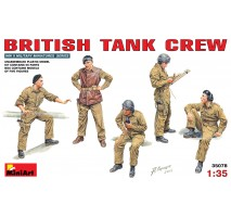 Miniart 35078 - 1:35 British Tank Crew - 5 figures