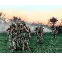 "Masterbox 35107 - 1:35 Head for the Huey"", Vietnam War series"" - 5 figures"