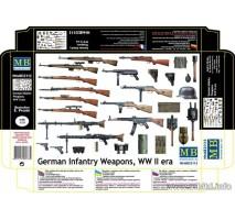 Masterbox 35115 - 1:35 German Infantry Weapons, WW II era