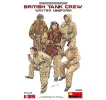 Miniart 35121 - 1:35 British Tank Crew (Winter Uniform) - 5 figures