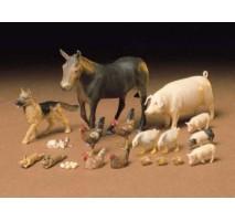 TAMIYA 35128 - 1:35 Livestock Set