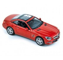 NOREV - MERCEDES 500 SL 2012 metallic red