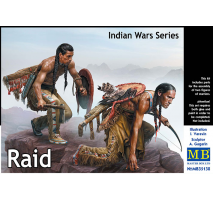 Masterbox 35138 - 1:35 Indian Wars Series. Raid - 2 figures