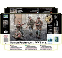 Masterbox 35145 - 1:35 German Paratroopers. WW II era - 4 figures