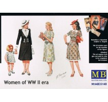 Masterbox 35148 - 1:35 Women of WWII era - 4 figures