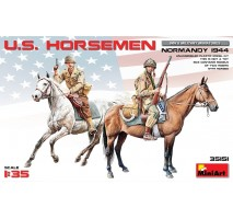 Miniart 35151 - U.S. Horsemen. Normandy 1944 - 2 figures 1:35