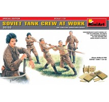 Miniart 35153 - 1:35 Soviet Tank Crew at Work. Special Edition – 5 figures