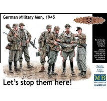 Masterbox 35162 - 1:35 Let's stop them here! German Military Men, 1945 - 6 figures