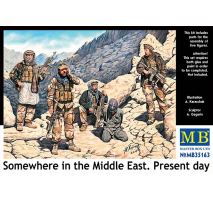 Masterbox 35163 - 1:35 Somewhere in the Middle East. Present day - 5 figures