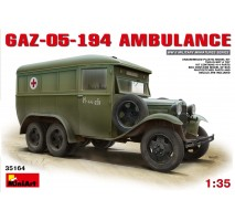 Miniart 35164 - GAZ-05-194 Ambulance 1:35