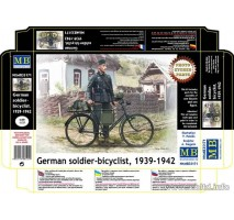 Masterbox 35171 - 1:35 German soldier-bicyclist, 1939-1942 - 1 figures