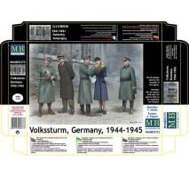 Masterbox 35172 - 1:35 Volkssturm, Germany, 1944-1945 - 5 figures