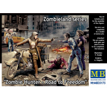 Masterbox 35175 - 1:35 Zombie Hunter - Road to Freedom, Zombieland series - 4 figures