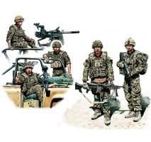 Masterbox 35180 - 1:35 Modern UK Infantrymen, present day - 5 figures
