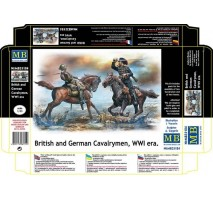 Masterbox 35184 - 1:35 British and German Cavalrymen, WWI era - 2 figures
