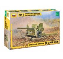 Zvezda 3518 - 1:35 BRITISH 6-pdr ANTI-TANK GUN